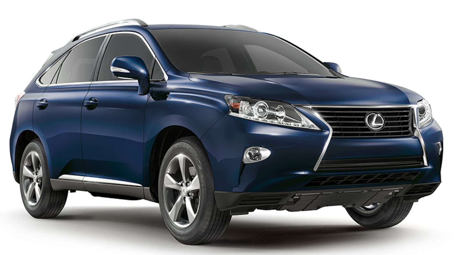 Lexus SUV the RX 350 in blue